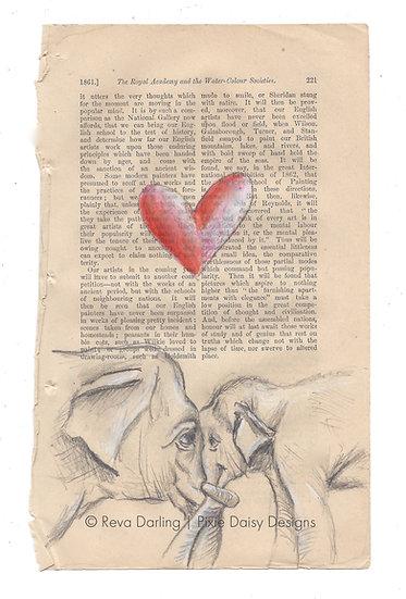 ANI-017_Mama's love_Elephants