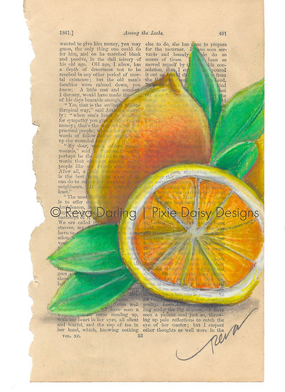 FRUIT-001_Joie de Vivre_Zest for Life lemon