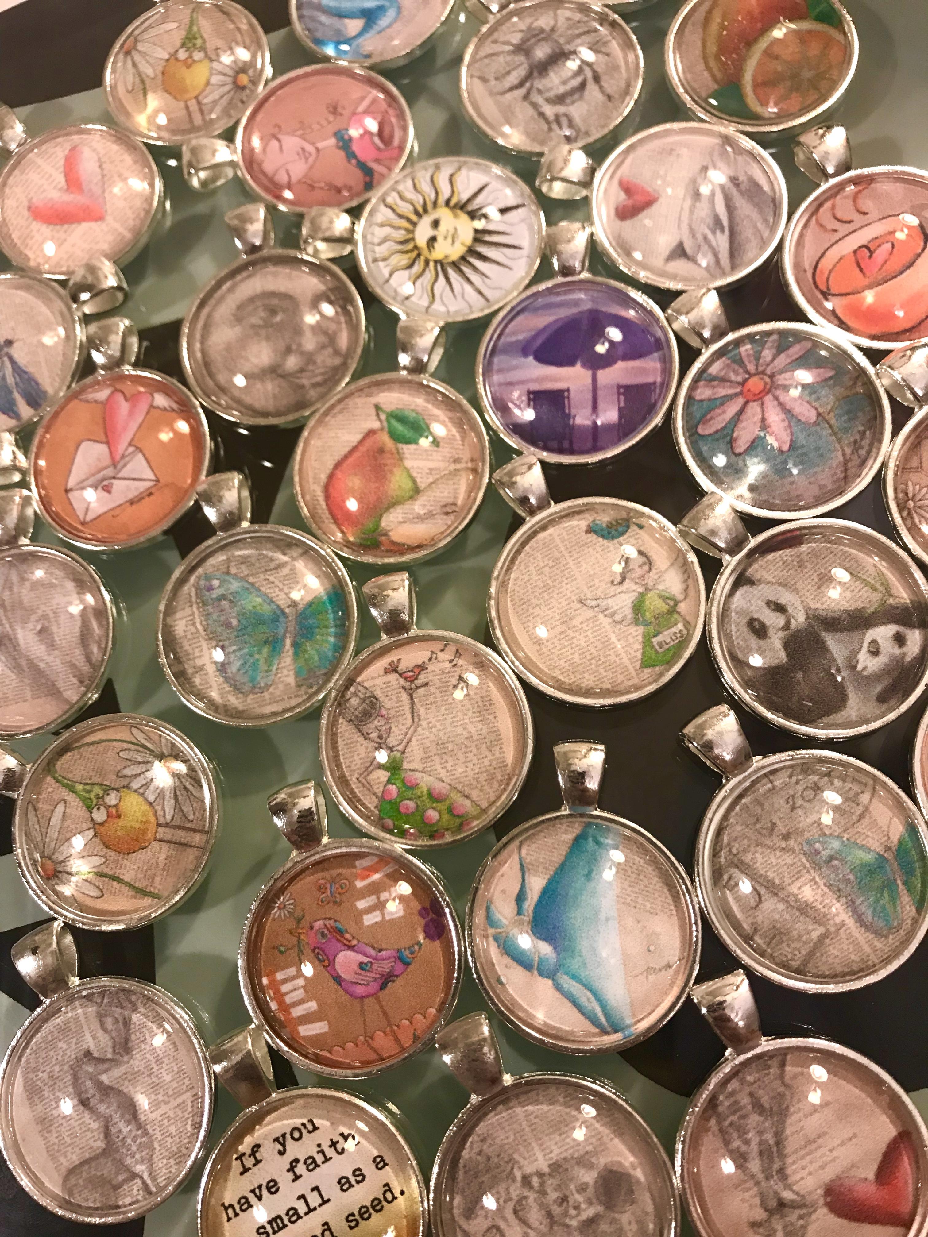Art pendants