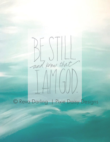 FAITH-012_Be Still and Know That I Am