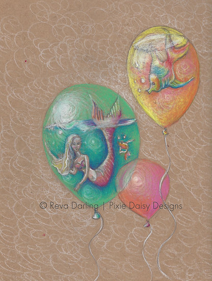 MER-015_Mermaid balloon