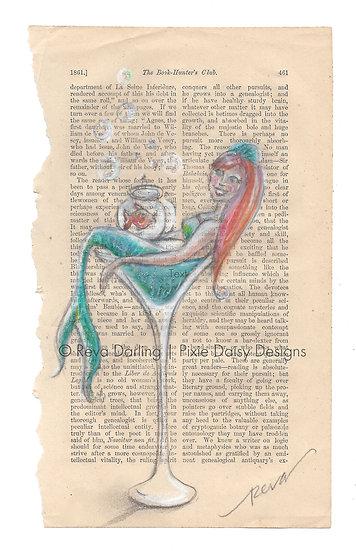 MER-013_Martini mermaid