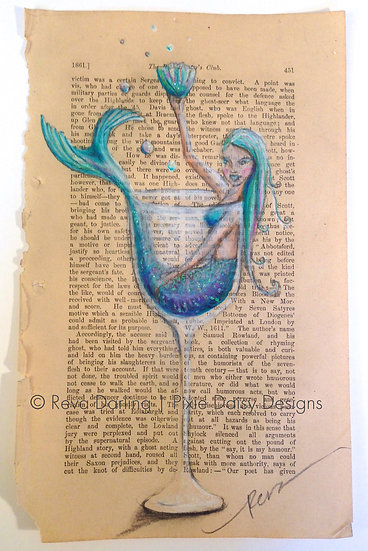 MER-012_Blue moon mermaid