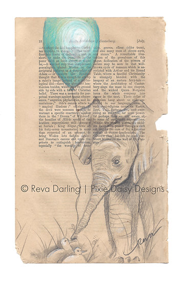 ANI-052_Happiness_Elephant w balloon