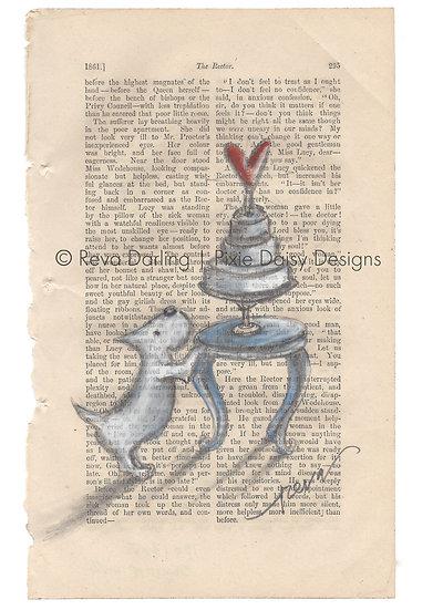 ANI-041_Slice of Life_dog with cake