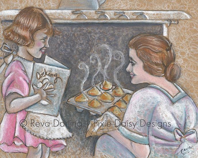 BAKE-008_Mama & Daughter baking