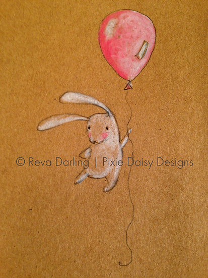 EDU-016_Baby bunny with balloon