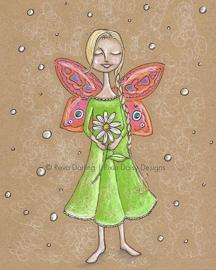 GIRL-013_Gratitude daisy
