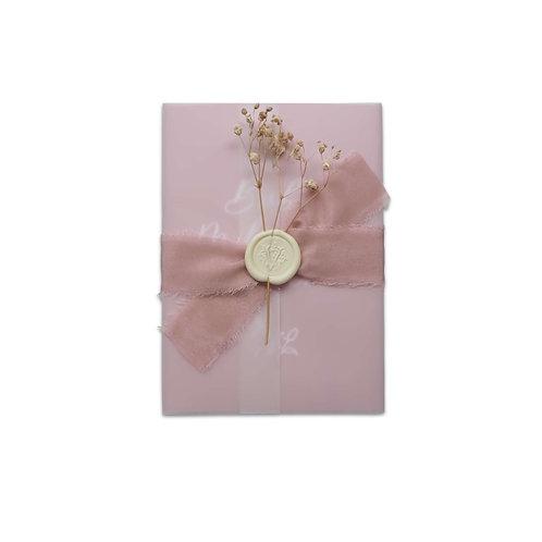 Baby Milestone Diary Cards (Pink)