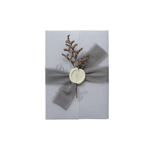 Baby Milestone Diary Cards (Grey)