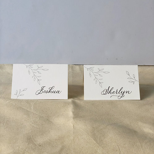 Place cards (Pack of 20)