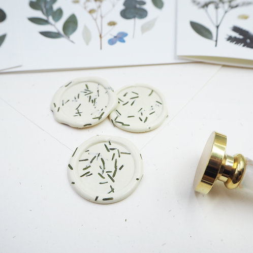Mimosa Wax Seals (Self-adhesive)