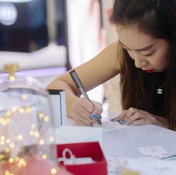 Chanel On site calligraphy event 3.JPG