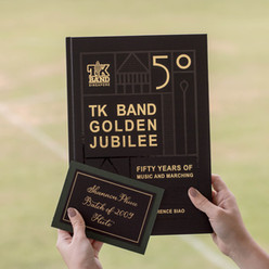 Personalized Cards for TK Band 50th Anniversary Event