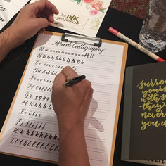 Raffles Hotel Brush Calligraphy Corporat