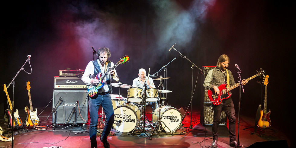 Hendrix, Clapton & Cream performed by Voodoo Room