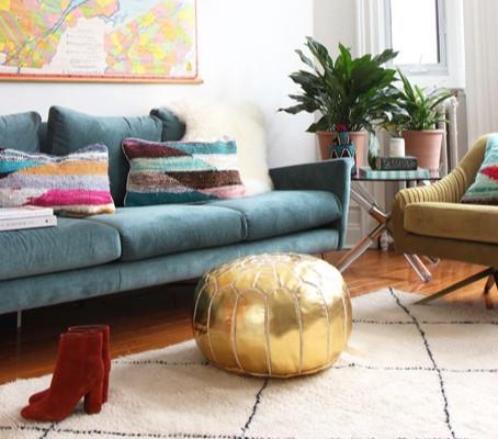 ¿Cómo conseguir una decoración equilibrada a través del color?