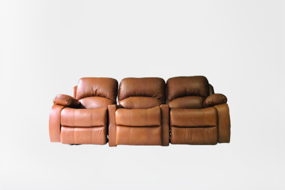 Sofá Reclinable Leather
