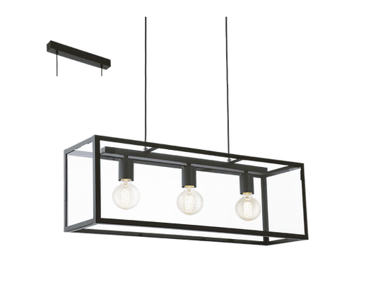 Lámpara Acero