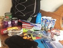 Karen O'Moore, Backpacks for the homeless, Cheshire