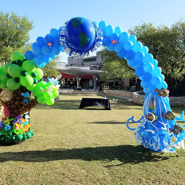Earth Day Arch