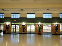 Dance Floor Columns Light Up