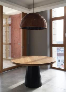 Diseño de mesa y lámpara a la medida