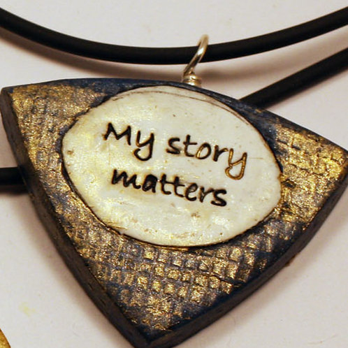 """Necklace """"My Story Matters"""""""