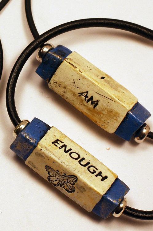 """Necklace """"I Am Enough"""""""