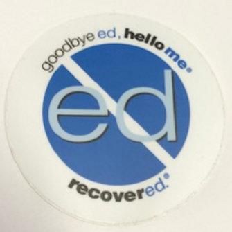Jenni Schaefer branded Blue Stickers (2 for $1)