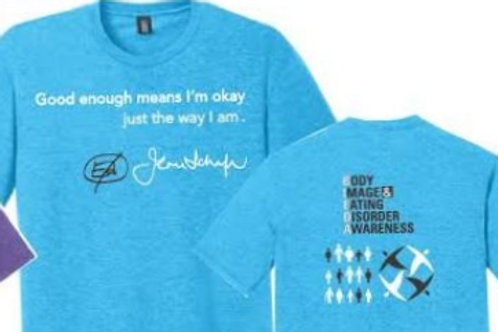 Jenni Schaefer Quoted Turquoise T shirt
