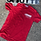 Thumbnail: Goutte Signature Tee White on Red