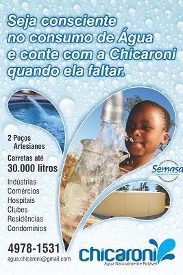 Transporte de água em Santo André
