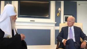 Patriarch Philaret congratulated Joseph Biden