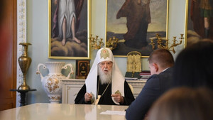 Interview with Patriarch of Kyiv and All Rus-Ukraine Philaret for Delegate Magazine