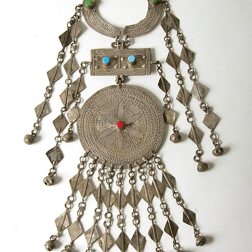 Nubian pectoral pendant from Aswan in Southern Egypt