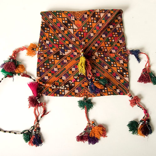 Baluch fine hand embroidered dowry bag