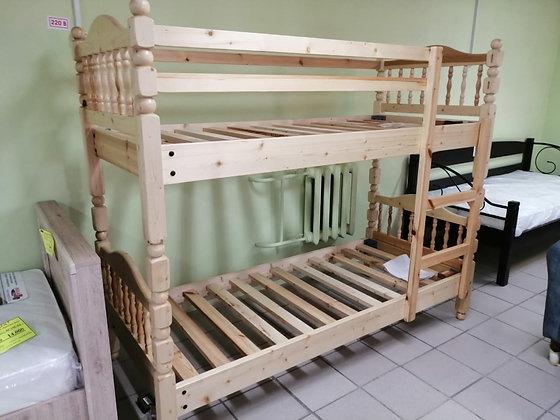 Кровать двухъярусная МД