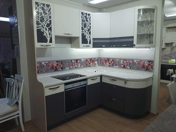 Кухонный гарнитур Графит 2