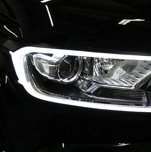 LED Headlamp Trim with perfect DRL Function. FORD RANGER/EVEREST