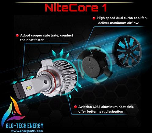 NiteCore1 Professional LED HEADLIGHT +300%