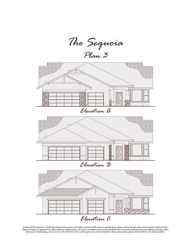 Oak Ridge Estates Plan 3
