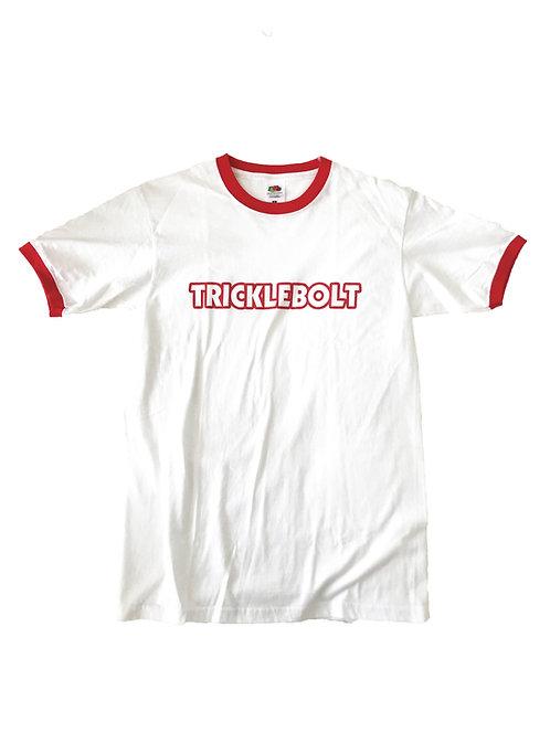 Ringer T-shirt White/Red
