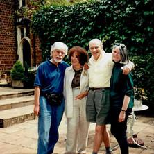 Carroll with Chloe, John and Carol