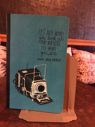 What You See/Thoreau Journal