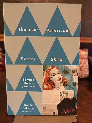 The Best American Poetry 2016 - Misc.