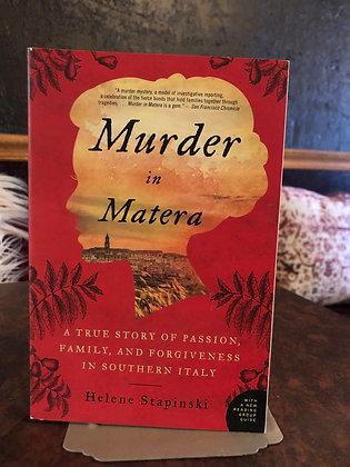 Murder in Matera - Helene Stapinski