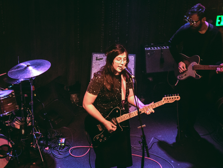 Lucy Dacus, Mal Blum, and Addy at Johny Brenda's