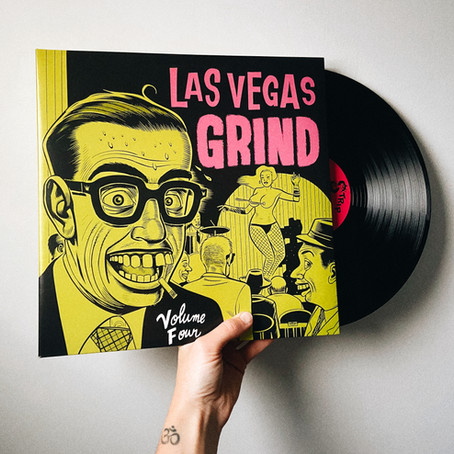 LAS VEGAS GRIND VOLUME FOUR   Vinyl Feature Friday by DJ Waves