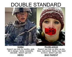 Double Standard female
